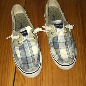 Plaid Sperry Top-Sider